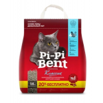 PI-PI-BENT-Комкующийся наполнитель + 20% в подарок, Classic