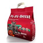 """PI-PI-BENT-Комкующийся наполнитель """"Классик"""" для котят (пакет), 5 кг"""