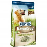 HAPPY DOG Premium - NaturCroq Lamm&Reis, 15 кг
